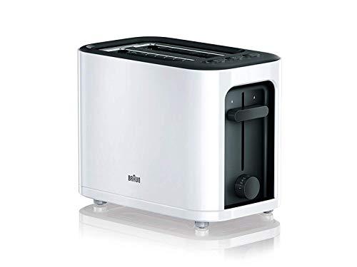 Braun-HT3000WH-Toaster-1000-W-2-Schlitze-abnehmbares-Gitter-Kabelaufwicklung-weiss