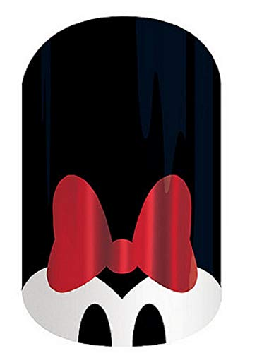 Jamberry Nail Wraps - M is for Minnie - Half Sheet - Minnie Mouse (Disney)