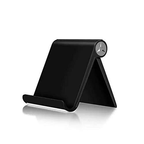 Soporte para Tablet, Soporte para móvil, Soporte para Todo típos de Dispositivos, Soporte Ajustable, Ideal para reglar…(Negro)