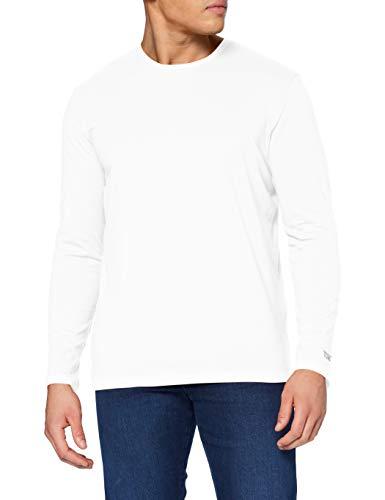 Tom Tailor Basic Organic T-Shirt, 10332-Bianco, XXXL Uomo