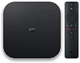Xiaomi Mi Box S with 4K HDR Android TV Streaming Media Player Google Assistant Remote Official International Version - BLACK