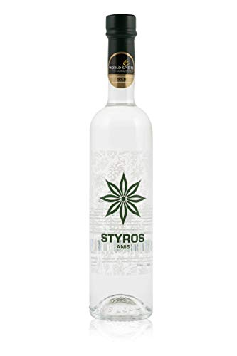 Hödl Hof STYROS Anis | 40,0% vol. | Gold World Spirits Award 2019 | Anisdestillat. (0,7 l)