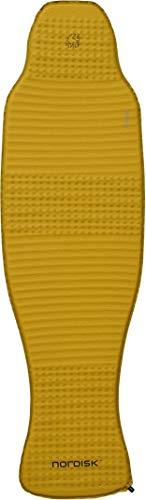 Nordisk Grip 2.5R körperkonturierte Matte Isomatte, Mustard Yellow/Black