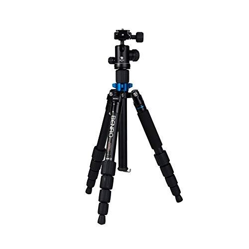 Dorling Kindersley Multimedia - DK Treppiede, treppiede per Fotocamere Reflex in Alluminio Professionale Portatile, conferenza Stand 5 Piedi + Testa a Sfera B00 + Kit Valigetta (carico Massimo 6kg)
