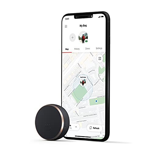 Vodafone Curve, The Smart GPS Tracker, A Lightweight Device for Your Bag, Dog, Car, Laptop, Keys and More - Slate (Paid Subscription Required)