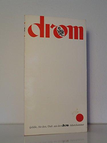 Gefäße für den Duft. Eine Serie handwerklicher Kostbarkeiten aus der drom-Schatzkammer. Kalender für das Jahr 1979
