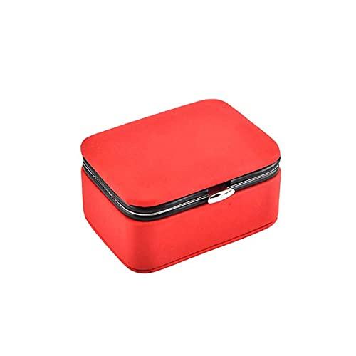 EZRYBHD Caja portátil de joyería de Viaje pequeña Caja portátil de joyería