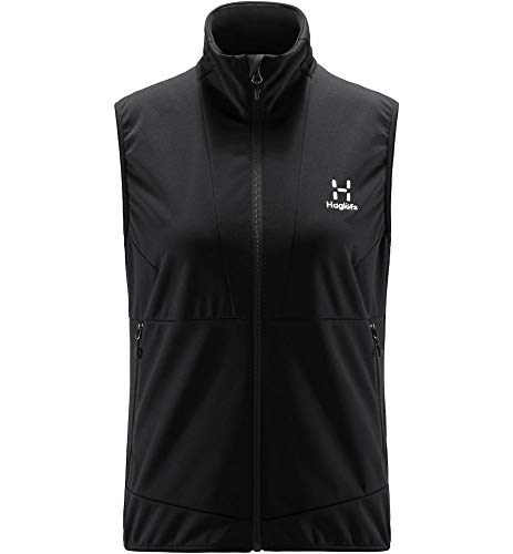 Haglöfs Multi Flex Chaleco de Plumas, 2C5-True Black, XL para Mujer
