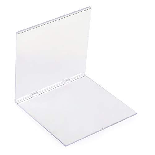 Kesote Bloque de Estampación de Acrílico Transparentes Bloque para Sellos para Scrapbooking (16 x 16 cm)