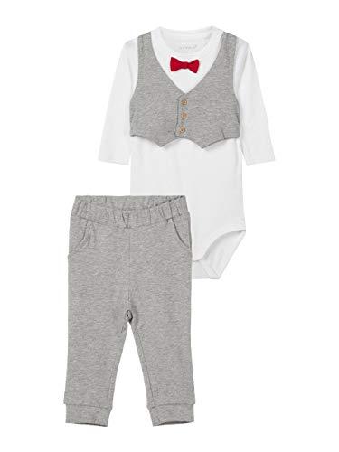 NAME IT Baby Jungen Anzug Set (Body + Hose) nmbseFEST (86)