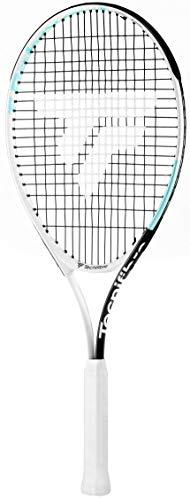 Tecnifibre T- Rebound 25 (Entre 9 y 10 años) Raqueta de Tenis Chica, Blanco, Talla Única