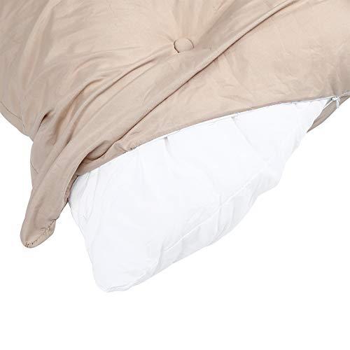 Eulbevoli Cojín para Silla de Columpio, diseño de tamaño ergonómico Silla Colgante Tela de poliéster de Calidad Fácil de Instalar Fácil de Instalar en un Mini sofá para Interior para mecedoras