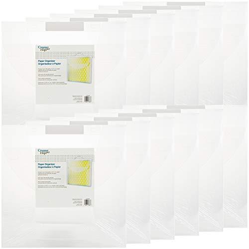 Advantus Corporation Cropper Hopper Paper Organizer 12/Pkg, 12'X12' 12 Pack