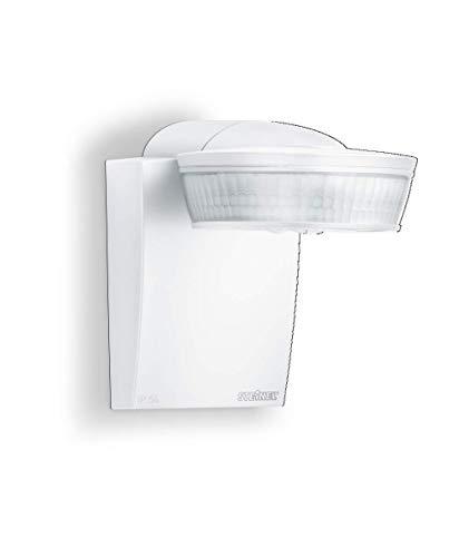 Steinel Infrarot-Bewegungsmelder sensIQ weiß, 300°|20 m Sensor, 2500 W, Dauerlicht, Eckwandhalter, Fernbedienung