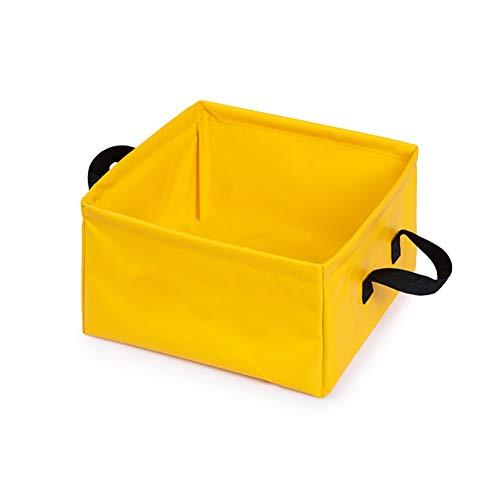 YH&YX inklapbare buiten wastafel, multifunctionele watercontainer voor het wassen van fruit draagbare schotel bad voetenbad lichtgewicht voet Spa emmer