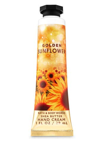 Bath and Body Works Hand Cream Golden Sunflower 1 Ounce Travel Purse Size Lotion
