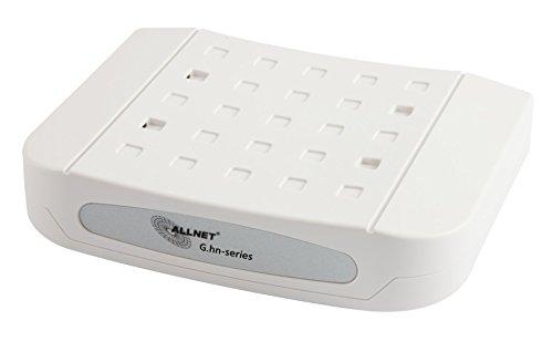ALLNET all-ghn101–2Wire 1000Mbit/s weiß Konverter Support-Netzwerk–Wandler Support-Netzwerk (1000Mbit/s, IEEE 802.3ab, IEEE 802.3AZ, IEEE 802.3u, 100,1000Mbit/s, kabelgebunden, 300m, Aktivität, Verbindung)