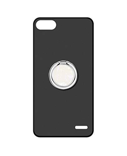 Sunrive Kompatibel mit Honor 4C/Huawei G Play Mini Hülle Silikon, 360°drehbarer Ständer Ring Fingerhalter Fingerhalterung Handyhülle matt Schutzhülle Etui Hülle (A5 Weiß) MEHRWEG
