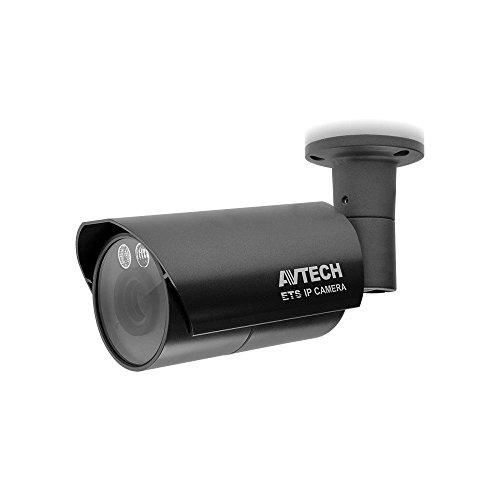 AVTECH Telecamera IP PoE IR Varifocale da Soffitto Parete 2Mpx per Esterno con Visione Notturna