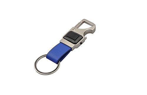 Munkees sleutelhanger met 3 functies, karabijnhaak, LED, flesopener, blauw, 1104