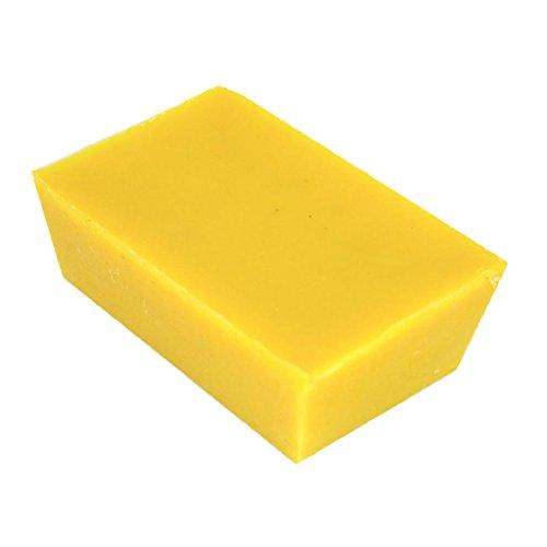 P Prettyia Cera de Abejas Pura Orgánica, Amarilla, 500 G, para Cosméticos Velas Cremas Ungüentos Jabones