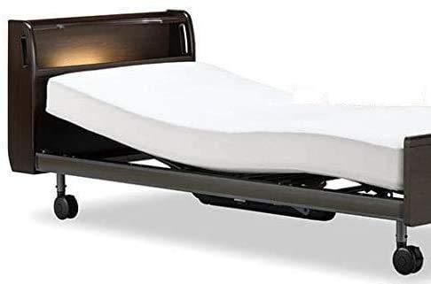【フランスベッド】クォーレックス CU-203C カラー:ナチュラル (キャスター脚/ワイヤレス, Mサイズ/2モーター)