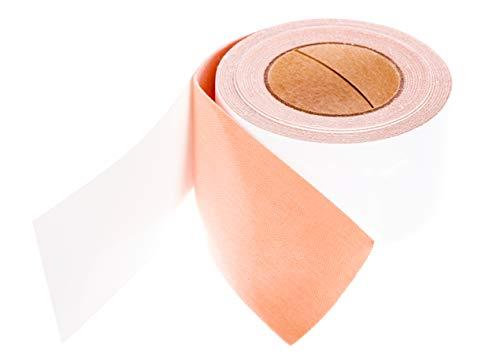 Durable Moleskin Adhesive Roll from PrimeMed (100% Cotton Moleskin) (2 Inch x 15 Feet)