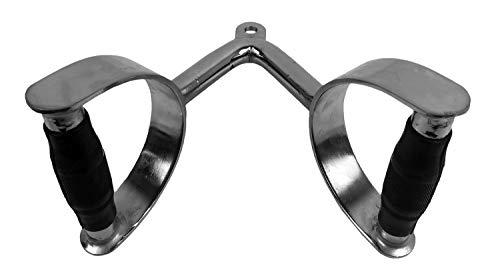 Tunturi Home Gym Accessories Agarre para Remo Rotativo, Unisex Adulto, Plateado, Talla Única
