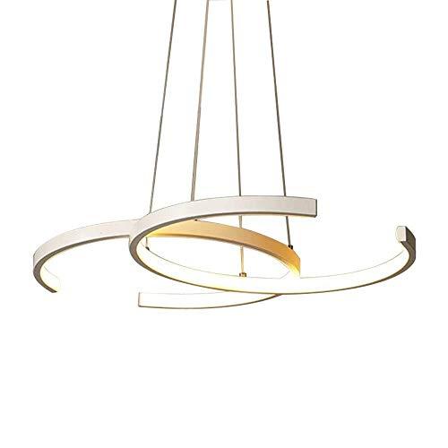 ZHAOJDD Light up Life / Boutique Lighting kroonluchter wit hanglamp eettafel eetkamer hanglamp 38 W keukeneiland, hanglamp Moderne landelijke stijl kroonluchter acryl lampenkap 4500 K.