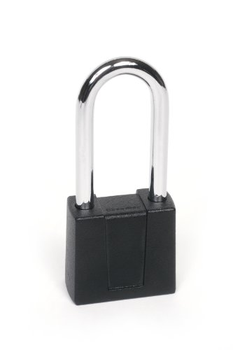 Sesamee K500 2 1/4 4 Dial Bottom Resettable Combination Padlock with 2-1/4-Inch Hardened Steel Shackle and 10,000 Potential Combinations