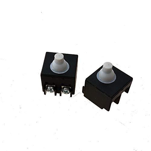 SDUIXCV Reemplazo del Interruptor de Encendido/Apagado GWS750 GWS9 GWS900 para Bosch GWS 750-100/125900-100115125 Pieza de Repuesto de Amoladora Angular pequeña