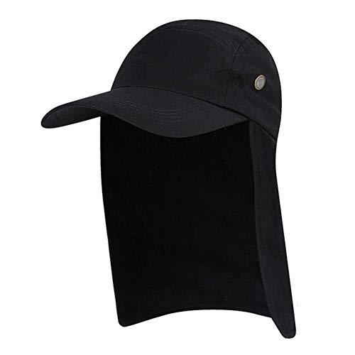 Gorras de Protección Solar Sombrero Para El Sol, Sombrero Con Solapa Para El Cuello Del Oído Unisex Pesca Senderismo Sombrero Para La Pesca Con Sol Visor Protector Solar Plegable Al Aire Libre Verano