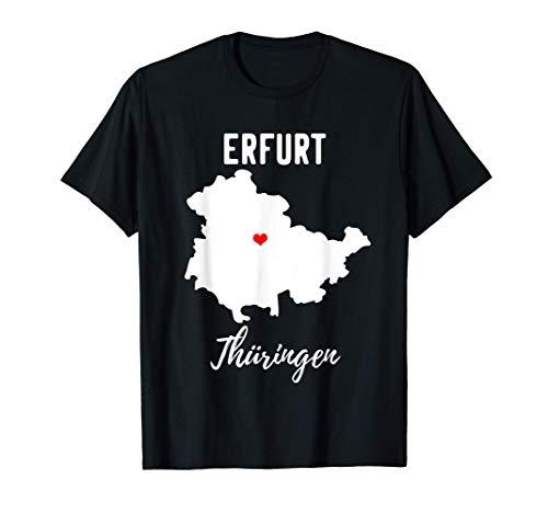 Thüringen Erfurt Geschenk T-Shirt