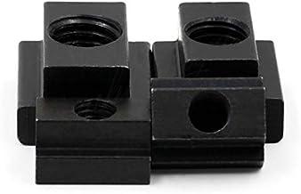 Lkjh 5Pcs M5 M6 M8 M10 M12 M14 DIN508 gezwart Grade 8.8 Carbon Steel T-Slot Nut onttrok Door Slot T-nuts Furniture (Size :...