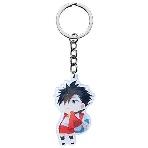 Sweet&rro17 Anime Haikyuu Schlüsselanhänger, Schlüsselbund Acryl Anhänger, Dekoration für Tasche/Rucksack/Mäppchen(Style 1)