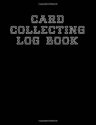 Card Collecting Logbook: Sports trading card collector journal | Baseball Basketball Football Hockey Soccer cards inventory tracking and record keeping log book