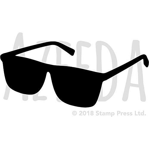 Azeeda A3 'Sonnenbrille' Wandschablone / Vorlage (WS00042944)
