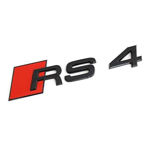 Embl/ème de tuning original RS4 Blackline Exclusive Black Edition