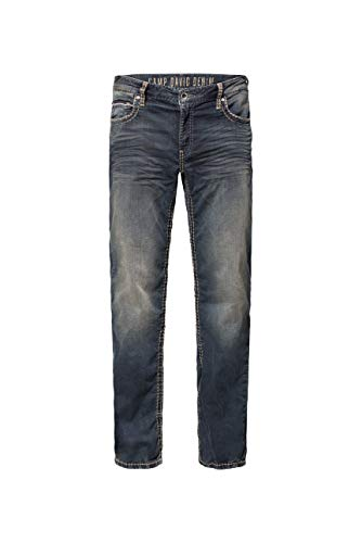 Camp David Herren Sweatmaterial im Denim Look Jeans