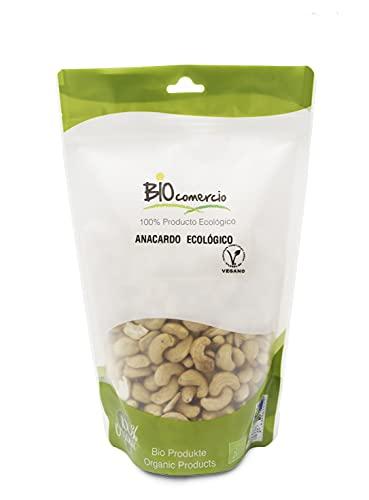 BIOCOMERCIO | Anacardo ecológico entero | Anacardos naturales | 500 gramos | Anacardos enteros | Frutos secos