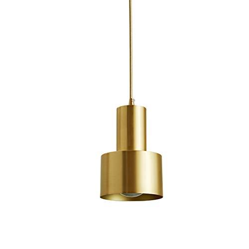 DSFHKUYB Pendant Light Tutti Torcia di Rame Singola Testa Piccolo Lampadario può Essere Installato in Ristorante Scala Bar-Caffetteria