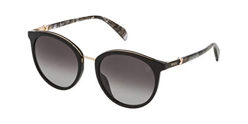 TOUS Stoa29s, Gafas De Sol Mujer, Shiny Black (0700)