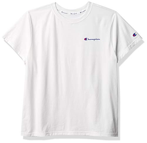 Champion Women's T-Shirt, White, Small