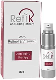 Ethiall Remedies RetiK Anti Aging Cream with Retinol; Vitamin C and Vitamin K (30g) - Ethiall Remedies