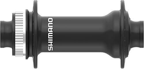 SHIMANO Moyeu VTT mt410 Disc centerlock Noir Avant 12v. pour axe traversant 100mm