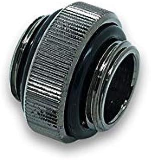 EKWB EK AF Extender 6mm M M G1/4   Black Nickel Verbindung, schwarz/silber