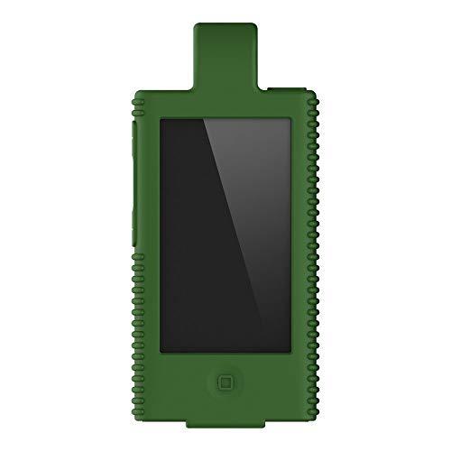 for iPod Nano 7, Nano 8 Silicone Case Cover with Clips
