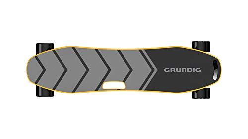 SUAKL Elektro Longboard Skateboard mit Integrierte Akku Dual Motor, E-Skateboard Geschwindigkeit 25km/h,E-Longboard Reichweite 18km,Berglongboard für Jugendliche und Erwachsene bis Gewicht 100kg