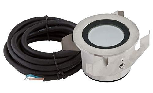 EVN Lichttechnik Power-LED-Einbauleuchte P68 132 350mA 3W warmweiß Bodeneinbauleuchte 4037293363075