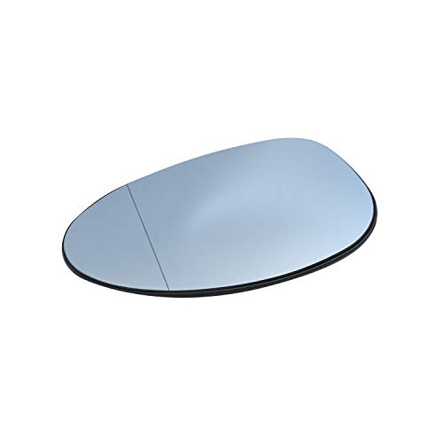 TAKPART Spiegelglas rechts Beheizbar Asphärisch Blau für 1er E81 E87 3er E90 E91